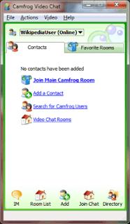 Video Chat untuk PC: Camfrog
