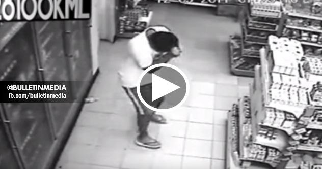 [VIDEO] CCTV Rakam 6 Kejadian Pelik Yang Menyeramkan