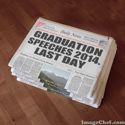 English for You, Rosa´s Blog: Graduation Speeches 2014. Day 7