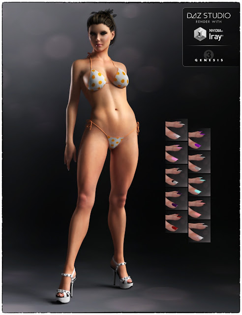 Maria for Genesis 3 Female