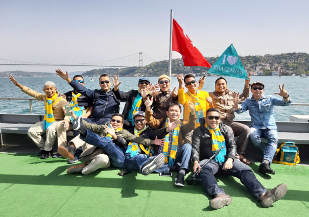 jamaah umroh plus turki di bosphorus cruise