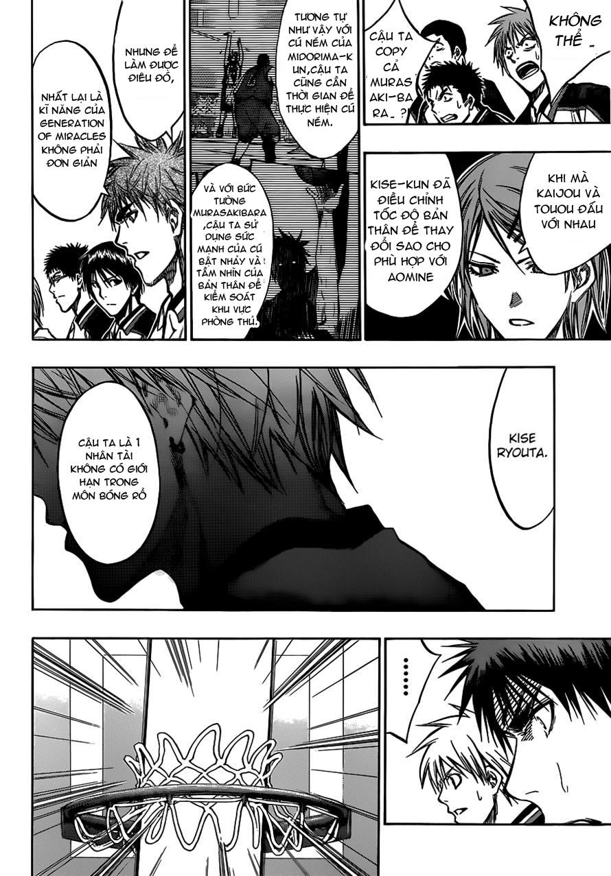 Kuroko No Basket chap 173 trang 6