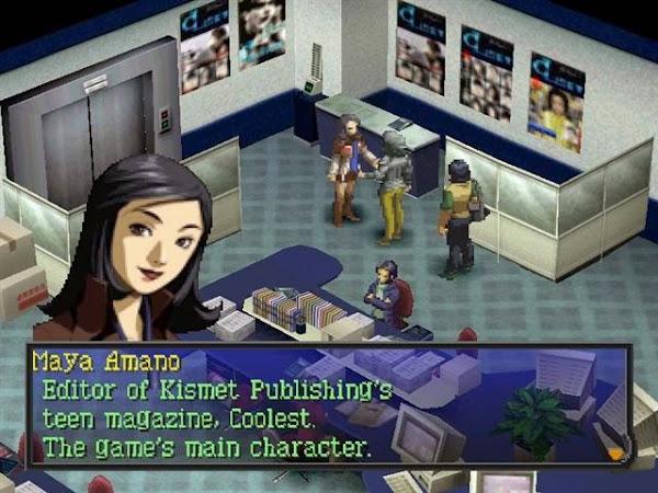 Persona 2: Eternal Punishment PSP ISO Screenshots #3