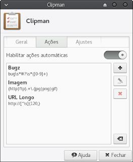 Clipman permite adicionar programas