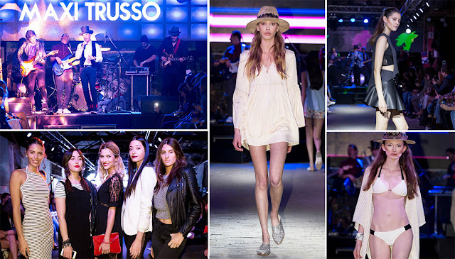 "DELAOSTIA PRIMAVERA VERANO 2017 | MAXI TRUSSO | FASHION MUSIC SHOW. Toda la moda de la primavera verano 2017 en el evento ""The Endless Adventure on the Streets of Rock´n roll"""