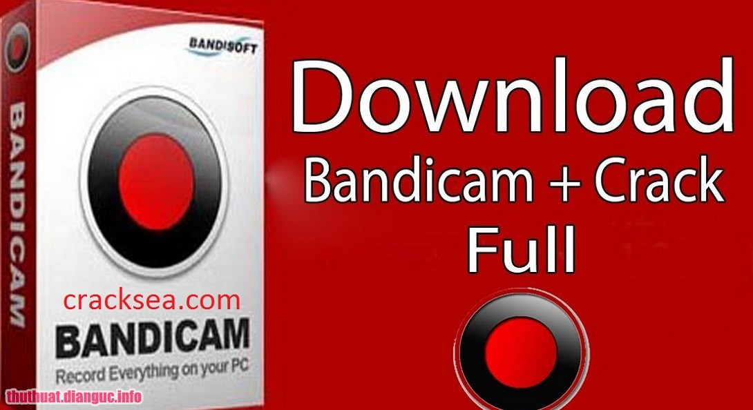 Download Bandicam 4.1.0.1362 full crack – Phần mềm quay video game