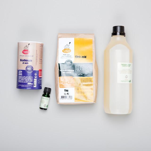 Ingredienser til hjemmelagde WC bomber, Lena Isaksen