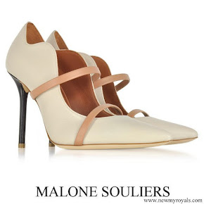 Malone Souliers Maureen nappa leather high heel pumps