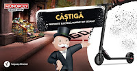 Castiga o trotineta electrica Ninebot by Segway sau instant un joc Monopoly Cheaters