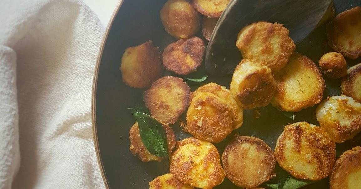 Arbi roast | Taro root roast| Colocasia roast|Chamagadda ...