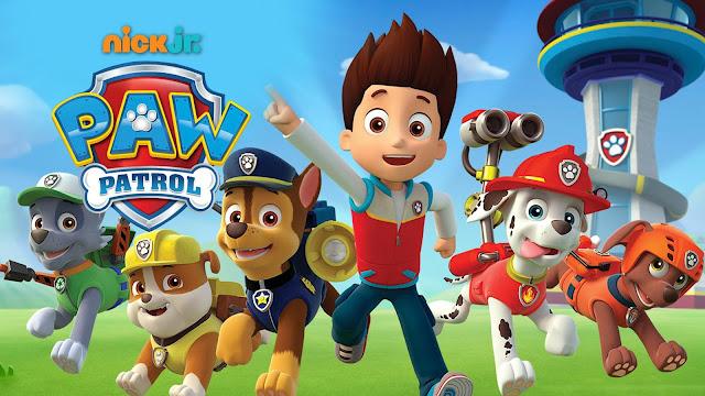 Imagen promocional de la serie de animación canadiense de nickjr La Patrulla Canina