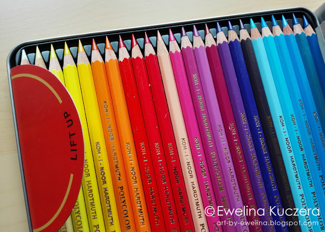 Koh-I-Noor Polycolor pencils review