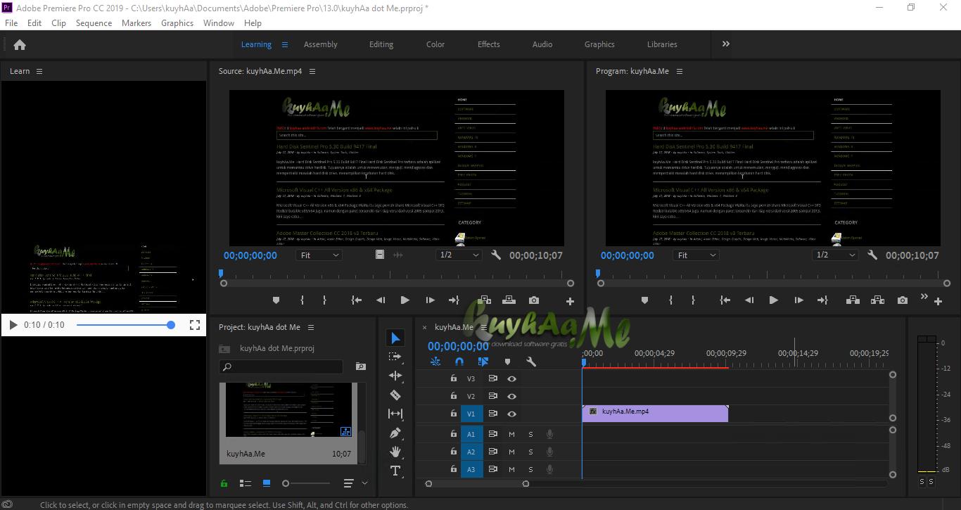 download adobe premiere pro cs6 full crack 64 bit kuyhaa