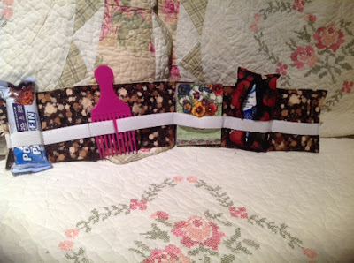eSheep Designs' Wave Purse Organizers crafted by Barbara