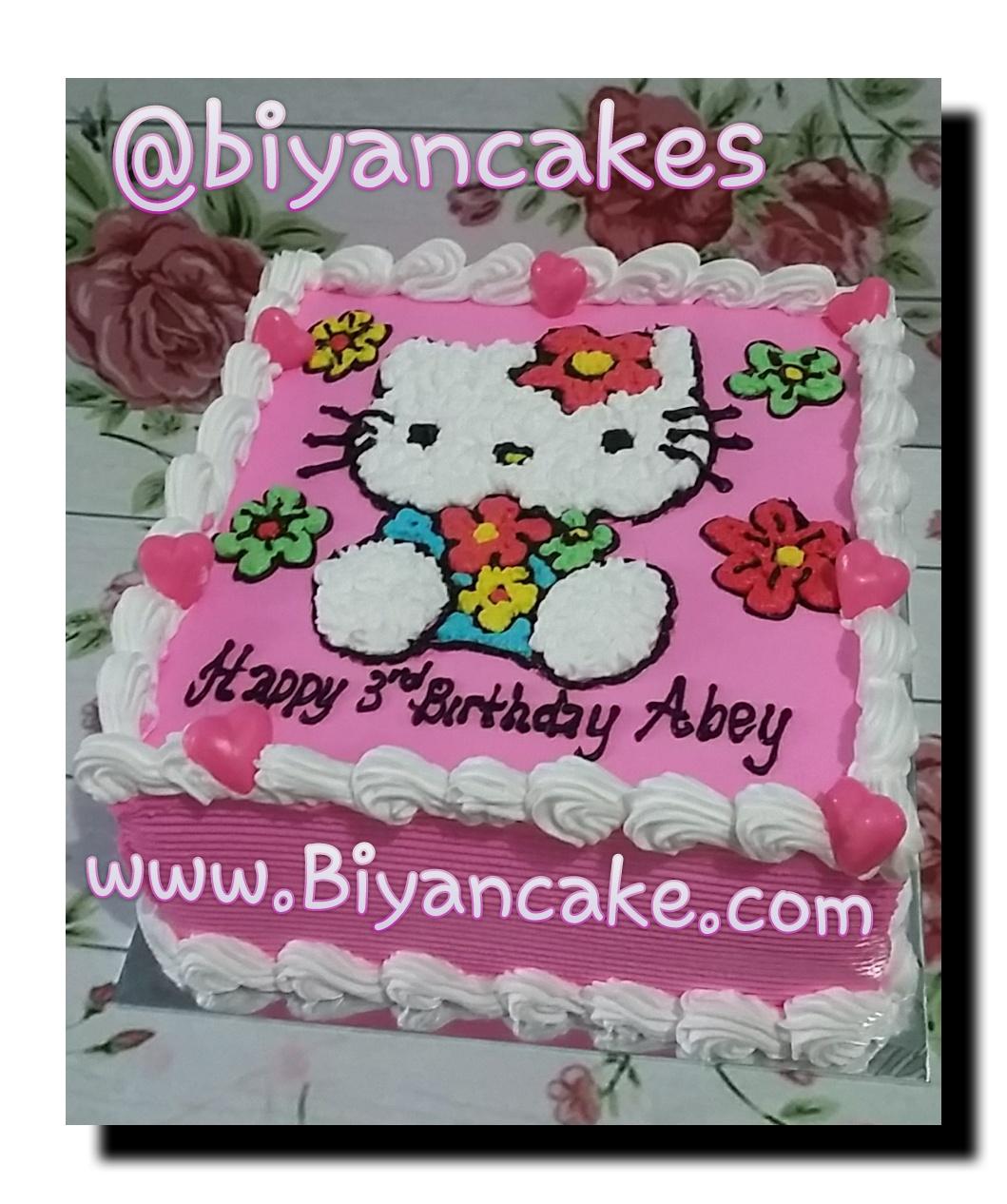 Biyancakes Toko Kue Tart Di Bekasi Kue Tart Hello Kitty