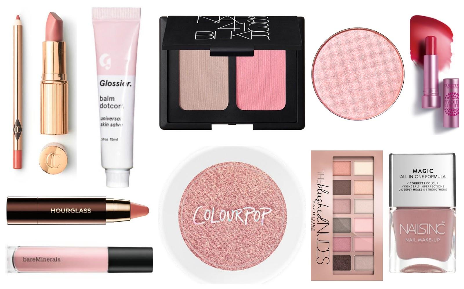 Millennial Pink Makeup