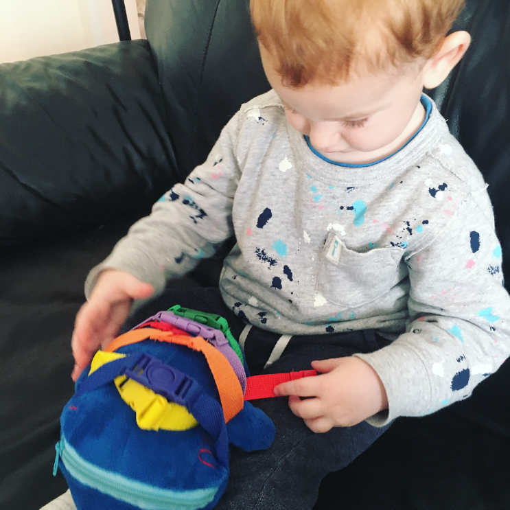 "Buckle Toy ""Blu"" Whale Review"