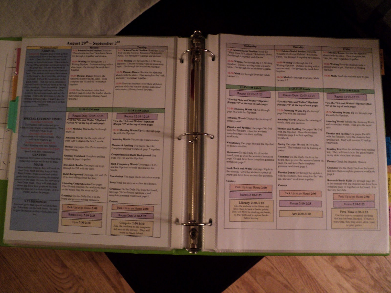 Permanently Primary Teacher Binder And A Freebie