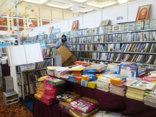 Seharian di Pesta Buku Antarabangsa PWTC