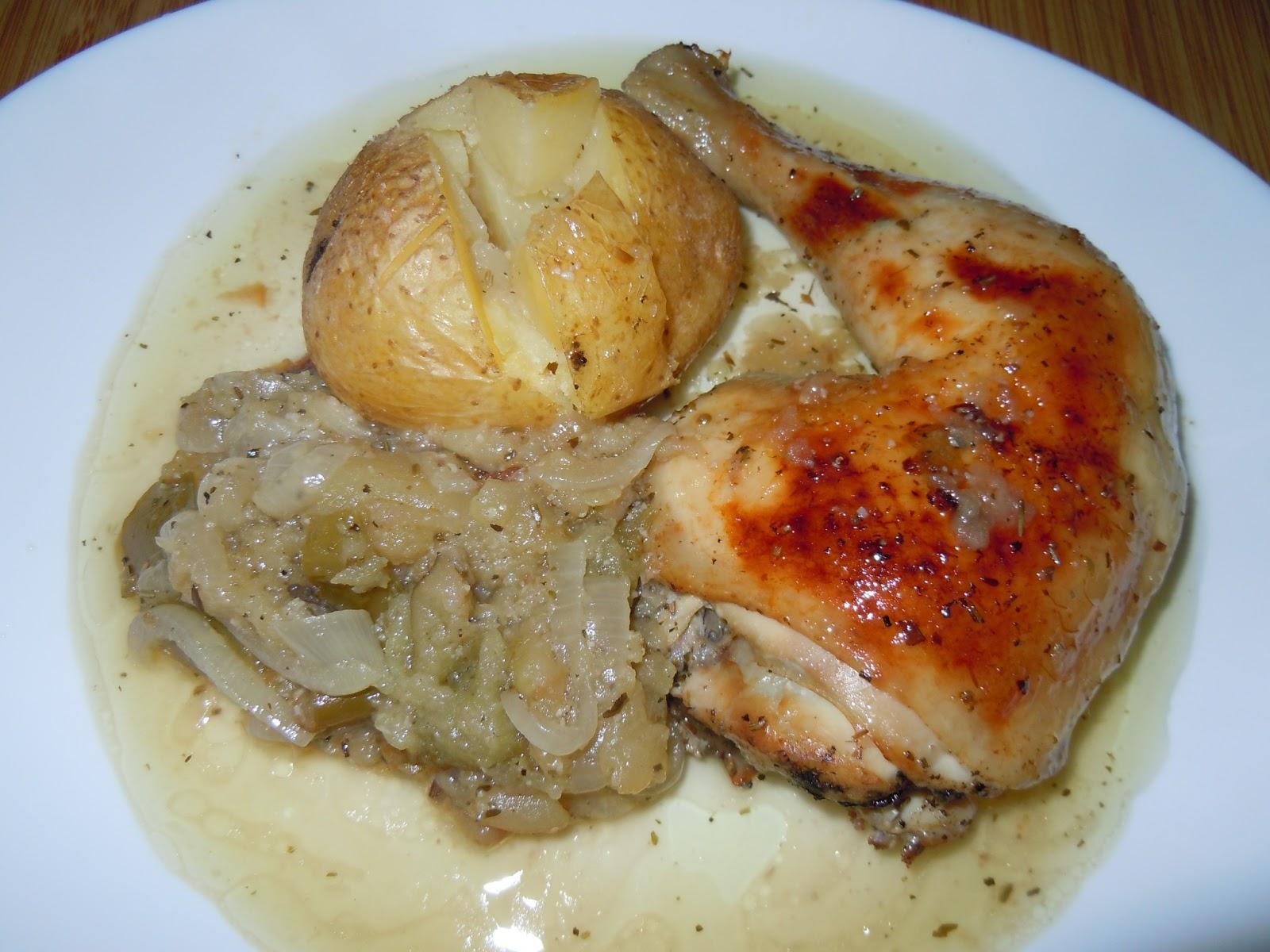 El blog de debora mis recetas del dia a dia pollo asado for Cosas de cocina