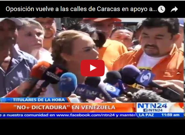 Apenas 200 personas marcharon por Leopoldo López