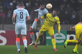 Olivier Giroud proved the match winner on a difficult night for Chelsea in Belarus. The Frenchman headed home an Emerson Palmieri cross after 52 minutes to help The Blues clinch a 1-0 victory against BATE Borisov.