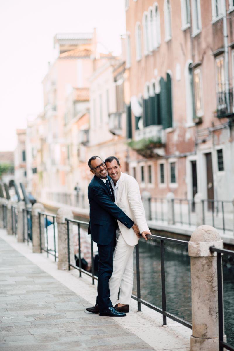 andrea castrignano si è sposato a venezia