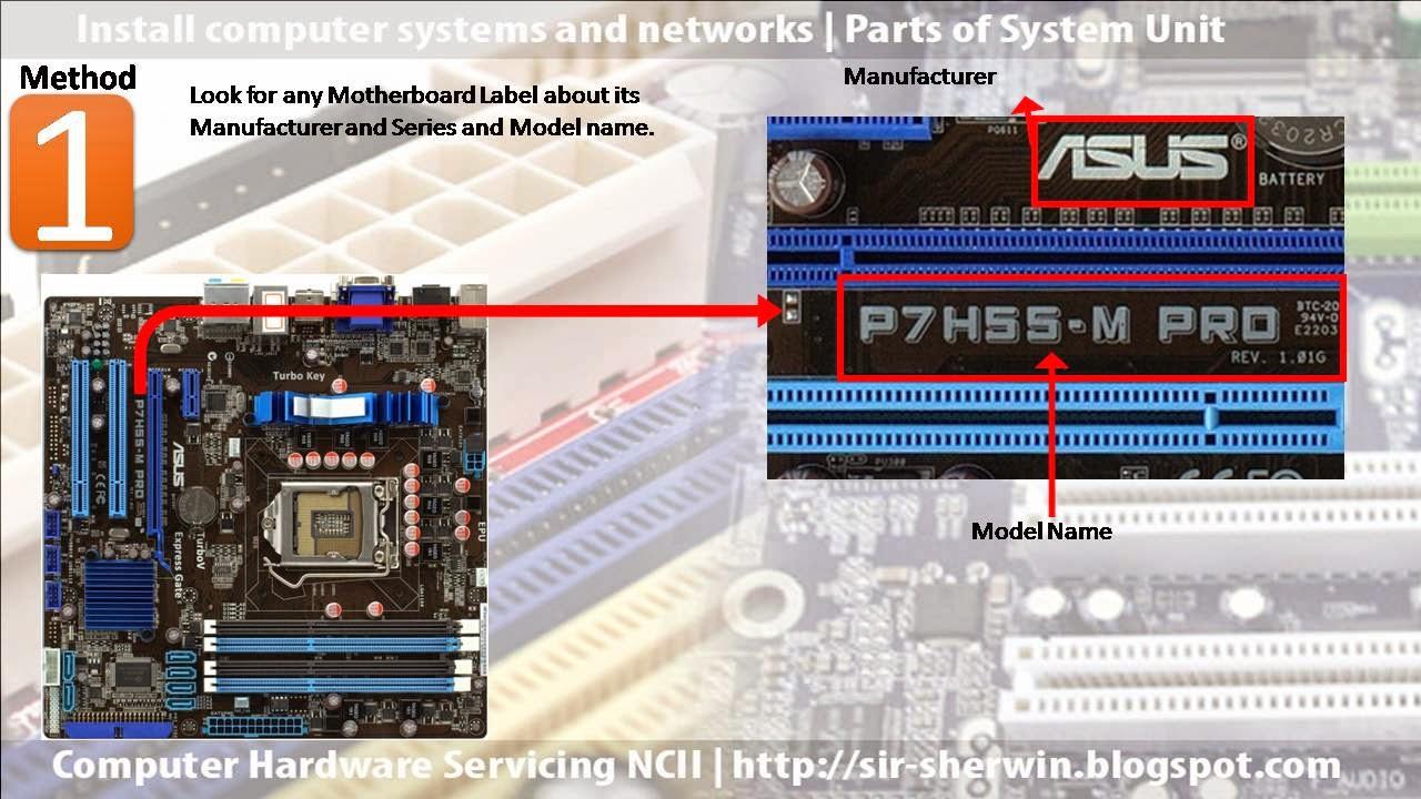 computer motherboard parts name pdf