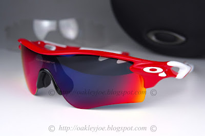 oakley clear lenses 91qz  infra + positive red iridium lens $390 comes with additional clear vented lens  lens pre coated with Oakley hydrophobic nano solution complete set with  box,