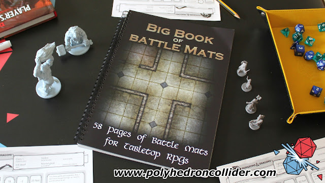 The Big Book of Battle Mats Review