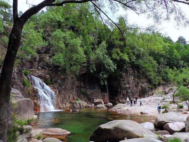 Cascada de Tahití, Parque Nacional de Peneda-Gerés