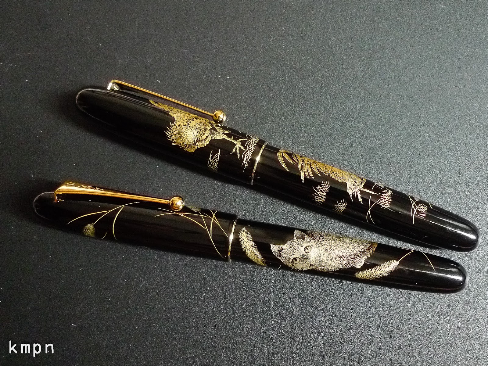 2016 Pulpen Safari 1706 Namiki Chinkin Cat And Royal Rooster