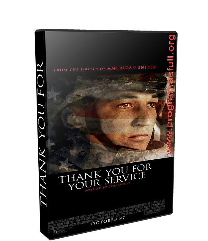 Thank You for Your Service poster box cover