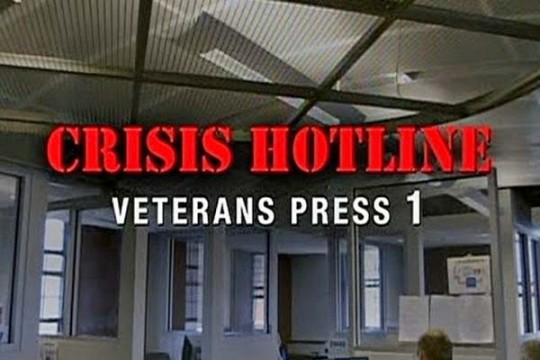 """Crisis Hotline: Veterans Press 1"""