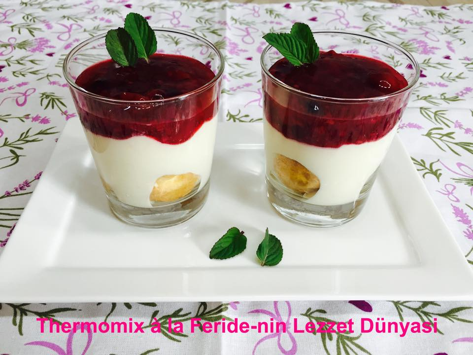 panna cotta thermomix mascarpone. Black Bedroom Furniture Sets. Home Design Ideas