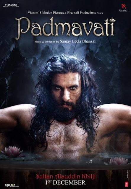 Padmavati Movie Ranveer Singh Posters