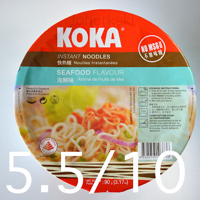 Koka Seafood Flavour Cup Instant Noodles