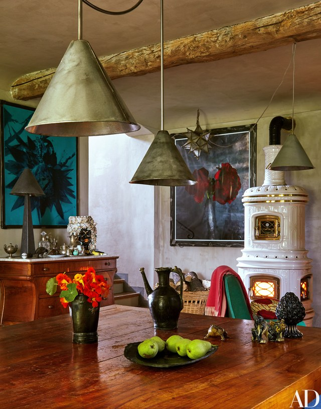 Oberto Gili on Architectural Digest. www.bohohome.com @bohosusan