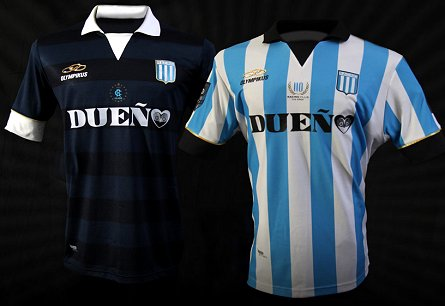 Olympikus divulga os novos uniformes do Racing Club - Show de Camisas a1db4710ac56f