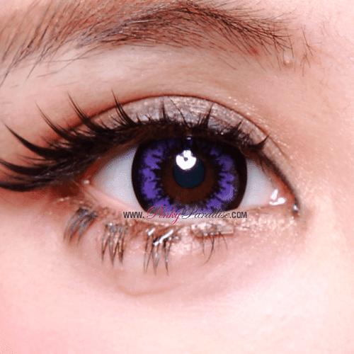 Geo Super Size Angel Violet Close-up