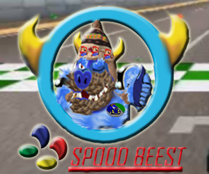 spoodbeest official logo beast in car
