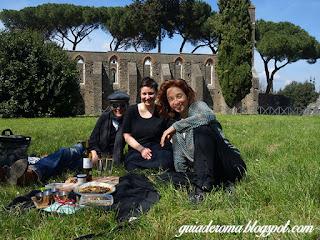 Pasqua 2016 Appia guia brasileira roma - Circo do Maxêncio