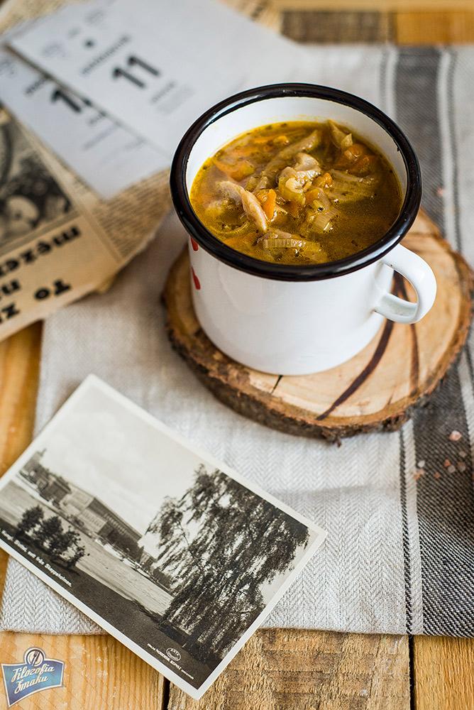 Zupa z boczniaków przepisy