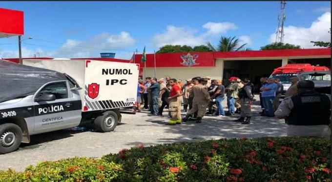VÍDEO: Polícia age rápido e prende um dos suspeitos de assassinar Bombeiro, em guarita da Corporação