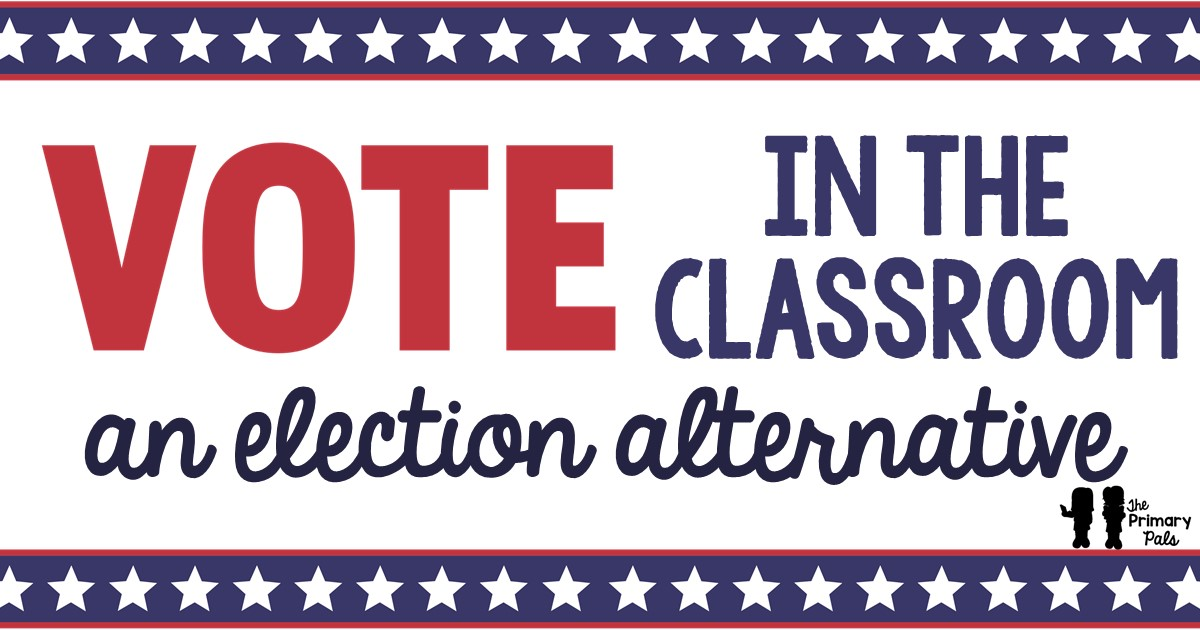 A simple way for students to understand the voting process is to essentially run a class vote. However, just voting for something is not enough. That really isn't different from some of the class graphs you have made. Students need to be involved in the process of choosing a candidate and supporting their choice.