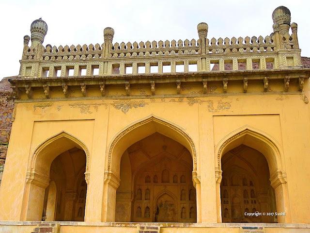 Taramati Mosque, Golkonda Fort, Hyderabad