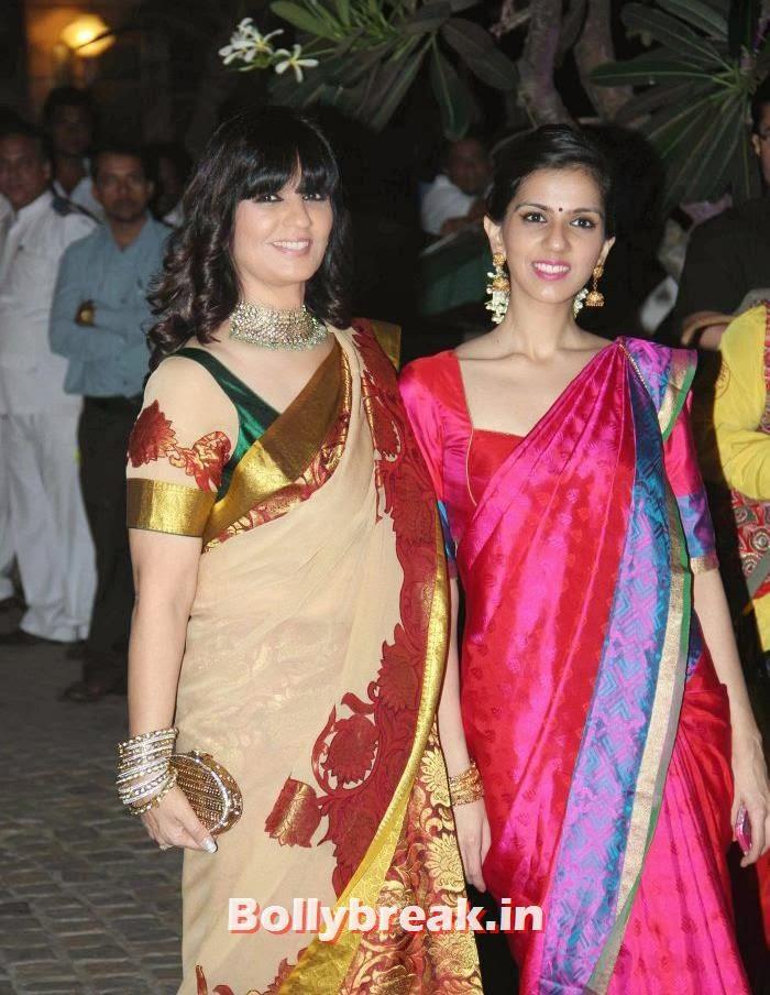 Neeta Lulla, Nishka Lulla, Ahana Deol Wedding & Reception Pics