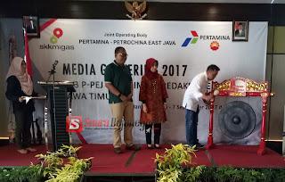 Pemimpin Redaksi Se Jatim Ikuti Media Gathering 2017 Di Banyuwangi Bersama JOB PPEJ