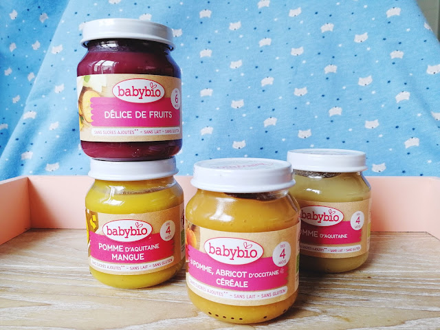 Alimentation Victor - Petits pots fruits BabyBio