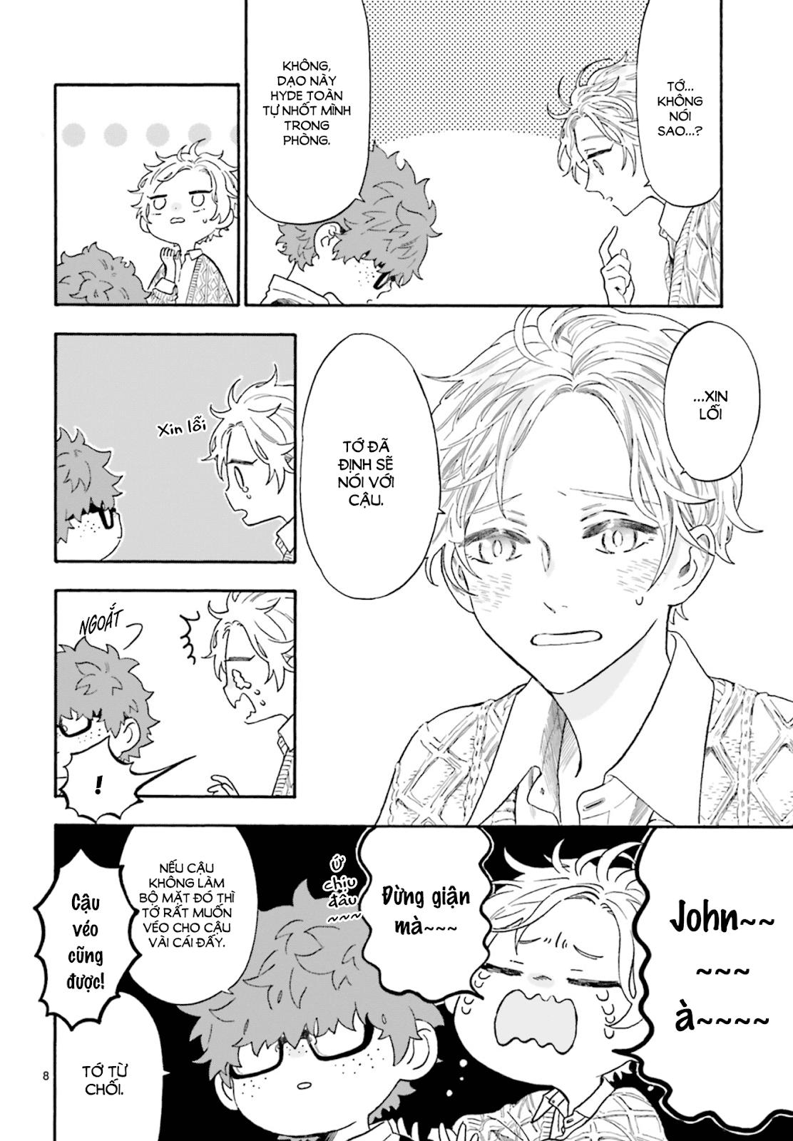 Boku no Gemini chap 7 - Trang 9